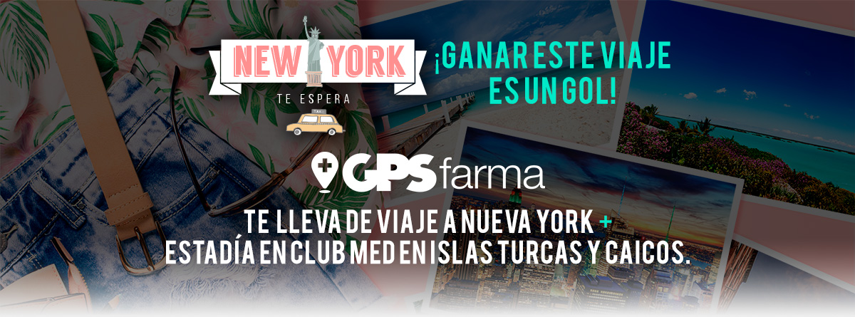 Viajá a NEW YORK con GPS Farma